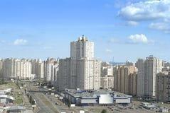 Distretto orientale della città di Kiev Fotografia Stock