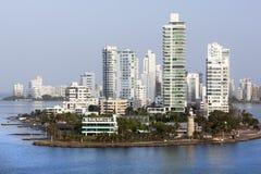 Distretto residenziale del ` s di Cartagine Immagini Stock Libere da Diritti