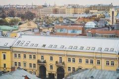 Distretto residenziale di St Petersburg fotografia stock libera da diritti