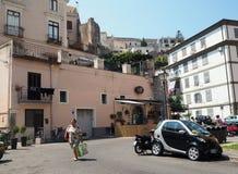Distretto storico di Gaeta nella regione del Lazio in Italia centrale immagini stock