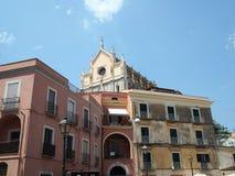 Distretto storico di Gaeta nella regione del Lazio in Italia centrale immagini stock libere da diritti