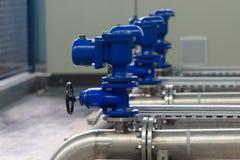 Distribución de agua Foto de archivo