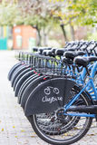 Distribución de la bici de Cluj Foto de archivo