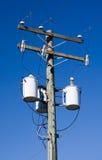 Distribución de la electricidad Fotos de archivo libres de regalías