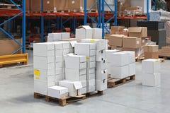 Distribución Warehouse Foto de archivo