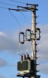 Distribución de la electricidad Fotografía de archivo libre de regalías