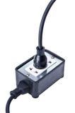 Distribuidor de la corriente eléctrica Fotos de archivo libres de regalías
