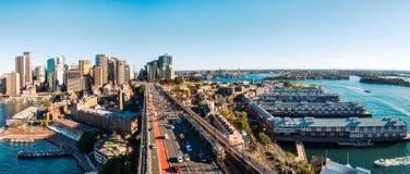 Distribuidor ocidental em Sydney Harbour, Austrália imagens de stock royalty free