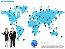 Distribute provide the person Stock Photos