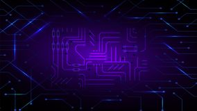 Distributed ledger computer technology concept based abstract matrix background. Distributed ledger computer technology concept based abstract matrix background stock illustration