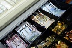 Distributeur automatique de billets Images libres de droits