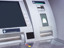 Distributeur automatique de billets d'atmosphère Photographie stock