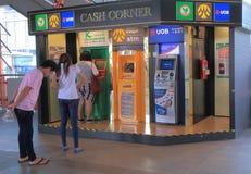 Distributeur automatique de billets d'atmosphère Bangkok Images libres de droits