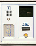 Distributeur automatique de carte Images libres de droits