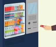 Distributeur automatique de casse-croûte Photo libre de droits