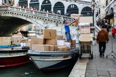 Distributeur automatique de cigarette, Italie photographie stock libre de droits