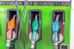 Distributeur d'essence et d'huile Image libre de droits