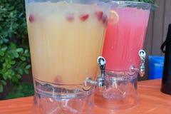 Distributeurs de boissons de fusion Photo stock