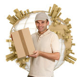 Distributie wereldwijd Stock Afbeelding