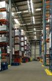 Distributiepakhuis Stock Fotografie