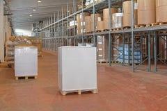 Distributiepakhuis Stock Afbeeldingen