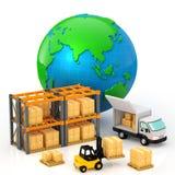 Distribution Photo stock