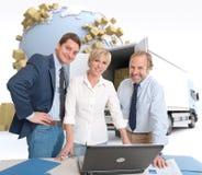 Distribution business Stock Photo