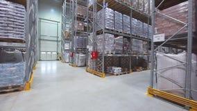 Distribution Center stock video