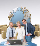 Distribution control Stock Images