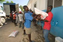 Distribution de produits alimentaires photo stock