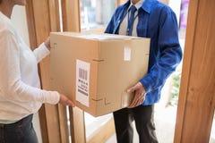 distribution du courrier Photo stock