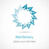 distribution du courrier Images libres de droits