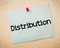 Distribution Royalty Free Stock Photography