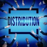 Distribution Sale Marketing Distributor Strategy Concept Stock Photos
