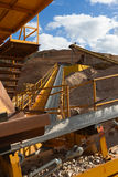 Distribution and Screening Plant Gravel Royalty Free Stock Image