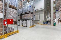 Distribution warehouse Stock Photos