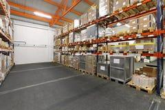Distribution warehouse Royalty Free Stock Photos
