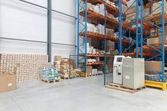 Distribution Warehouse Royalty Free Stock Image