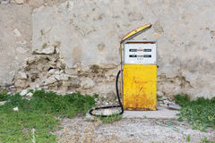 Distributor or gas pump, abandoned. Royalty Free Stock Photo
