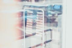 Distributore automatico del caffè Vendita del caffè Fotografie Stock Libere da Diritti