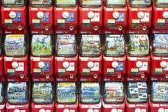 Distributore automatico di plastica Fotografia Stock