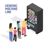 Distributore automatico isometrico royalty illustrazione gratis