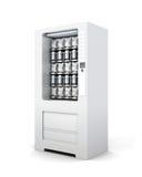 Distributore automatico per gli spuntini e la soda rappresentazione 3d Fotografie Stock Libere da Diritti