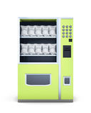 Distributore automatico su fondo bianco rappresentazione 3d Fotografia Stock