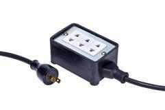 Distributore della corrente elettrica Fotografie Stock