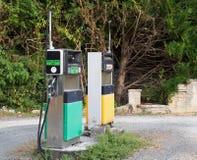 Distributore di benzina Fotografia Stock