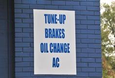 Distributore di benzina dell'automobile Fotografie Stock