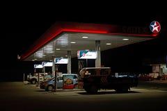 Distributore di benzina di Caltex Fotografia Stock