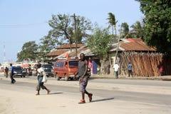 Distributore di benzina mombasa Fotografie Stock
