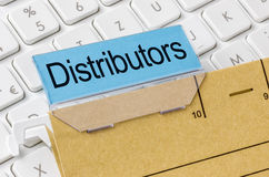 Distributors royalty free stock images